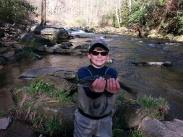 The best asheville nc guided fly fishing trips in the for Best trout fishing in nc