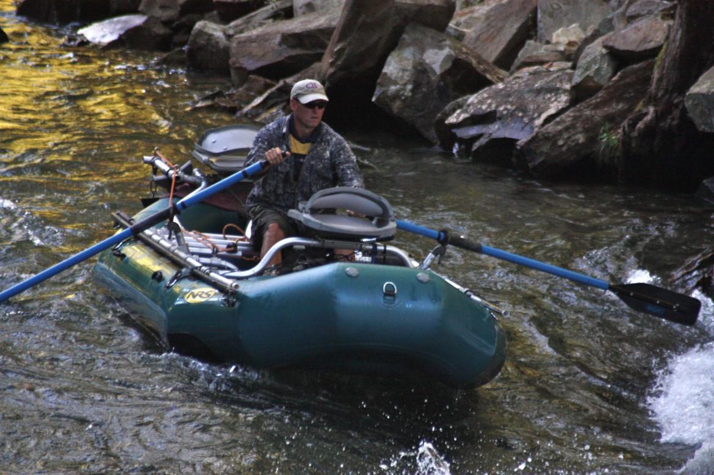 Nantahala river trout fishing for Fly fishing raft