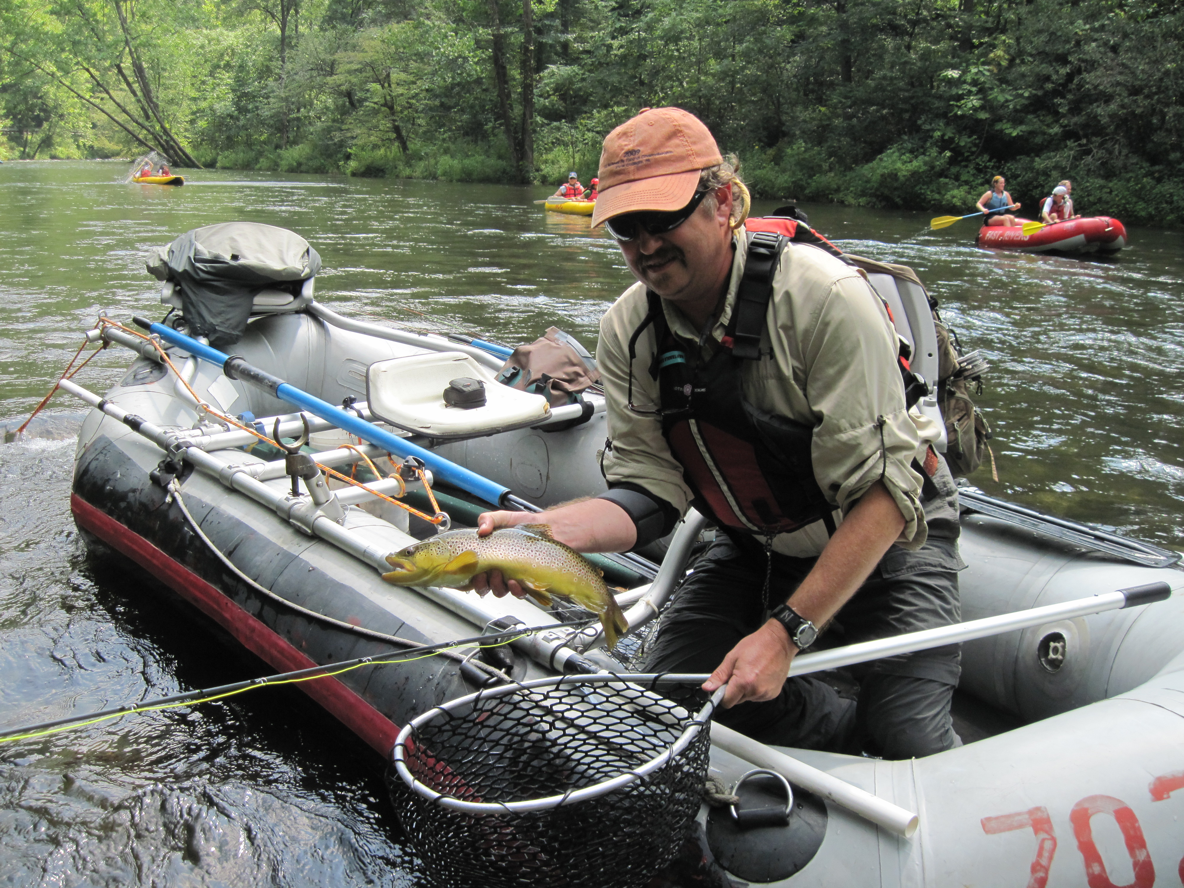 Guided Float Trips On The Delayed Harvest Rivers Of Nc