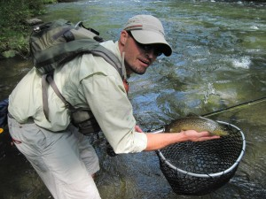 Bryson city nc guided fly fishing trips for Fly fishing chattanooga