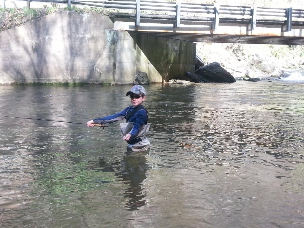Nantahala River Fly Fishing Report For Bryson City North