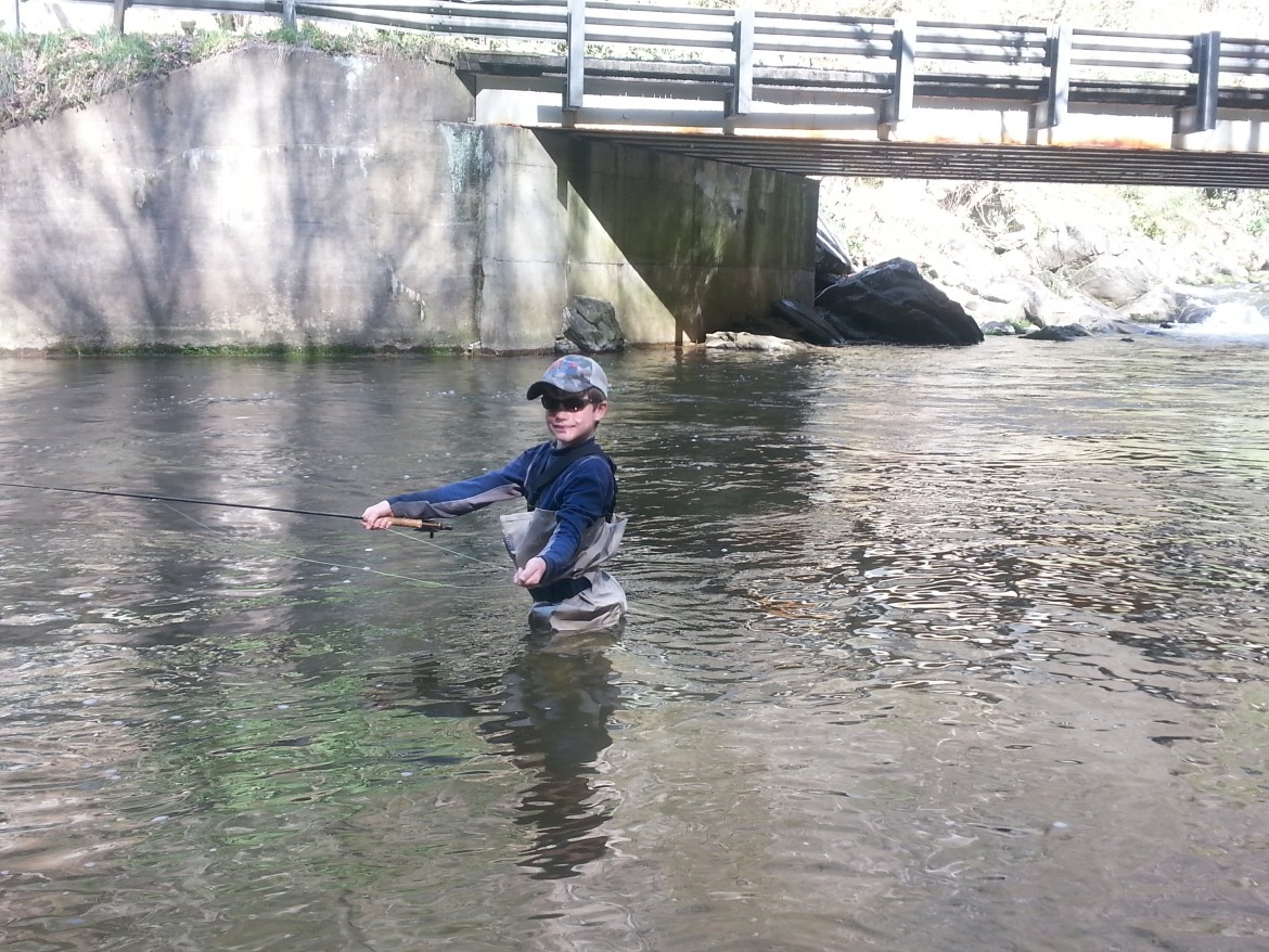 nantahala river fly fishing report