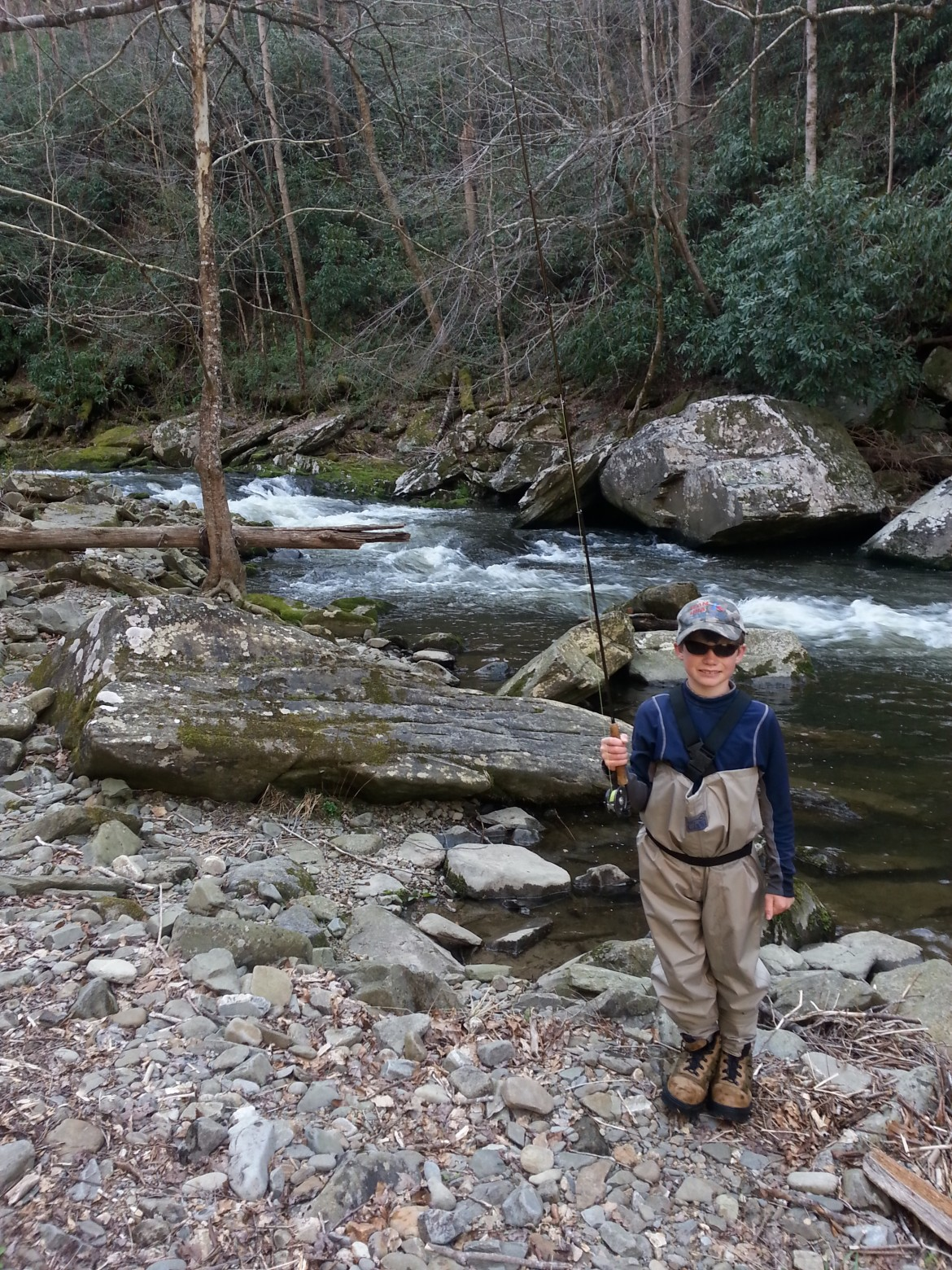 Bryson city nc guided fly fishing trips for Fly fishing vacation packages