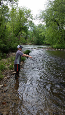 Fly fishing guide trips smoky mountains in bryson city for Smoky mountain fly fishing