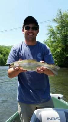 Trout Fishing Report Bryson City NC in Smoky Mountains of
