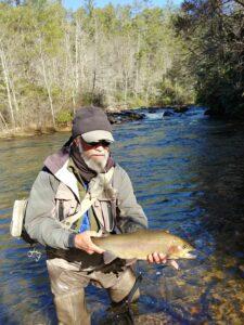 tony brooks rainbow trout